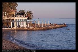 Roman columns by the sea!