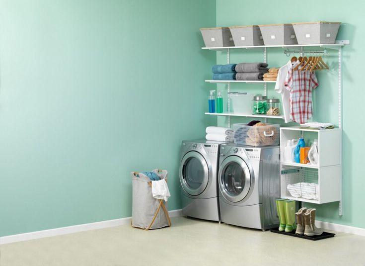 White Bathroom Laundry Storage 104 best laundry room storage images on pinterest | laundry room