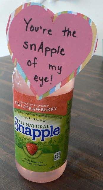 Way cute Valentine's Day gift. I like that it's not candy --- the kids get so much of that anyway.