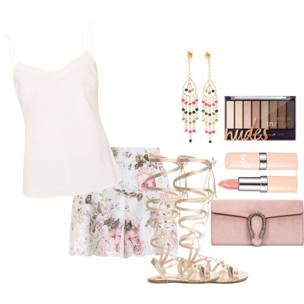 22 by vicinogiovanna on Polyvore featuring moda, Ted Baker, Zimmermann, Gianvito Rossi and Gucci