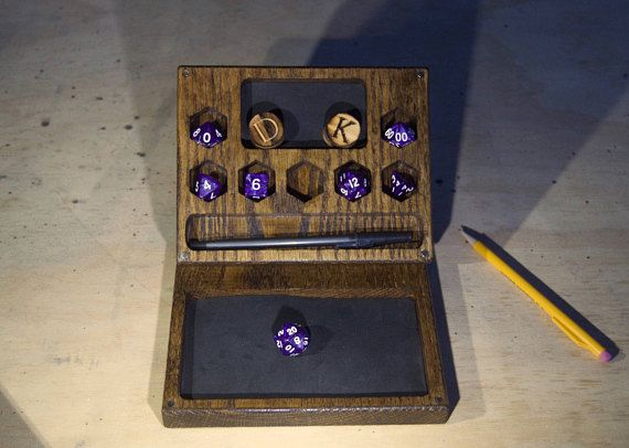 Essentials Dice Box for DND Dungeons and Dragons RPG Dice