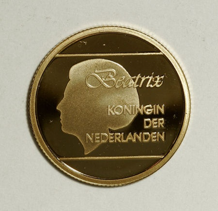 The coin least likely to appear in a Heritage auction - Aruba, Aruba: Dutch Colonial gold 50 Florin 1991