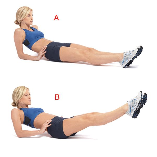 Look good in your jeans: exercises that may help achieve a flatter tummy