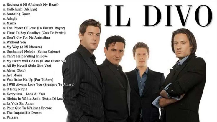 17 best images about il divo on pinterest ontario new zealand and songs - Il divo songs ...