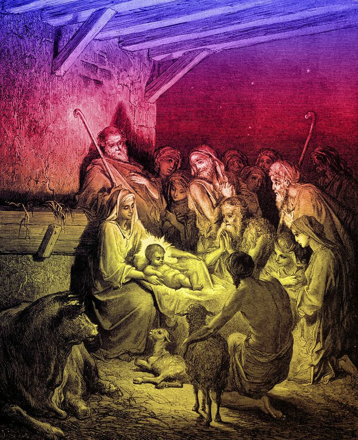 Luke Chapter 2: The Birth of Jesus by Gustave Doré