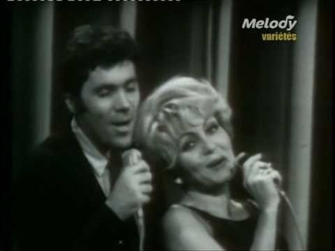 """En 1966, Nicole Croisille et Pierre Barouh nous interprètent """"Un homme et une femme""""."""