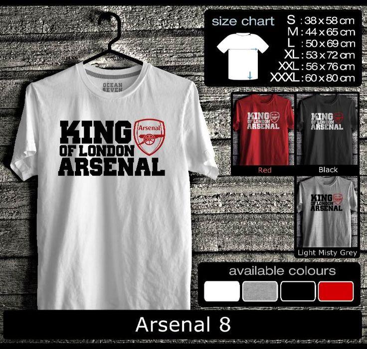 Kaos Arsenal FootBall Club | Kaos The Gooners Mania 2