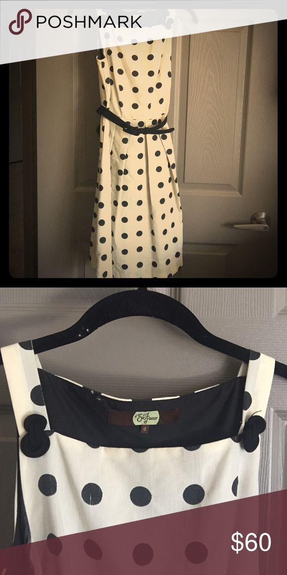 Eva Franco classic dress! Never worn. Size 0 Eva Franco Dresses