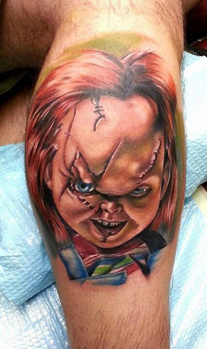 Chucky tattoo ideas pinterest for Bride of chucky tattoo