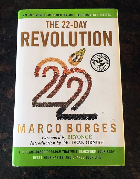 The 22 Day Revolution by Marco Borges Review - Vegetarian Snob