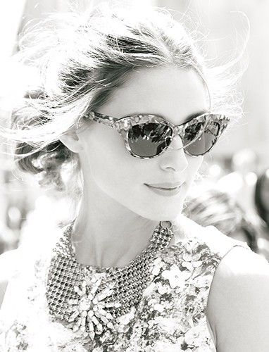 Olivia: Oliviapalermo, Catey, Shades, Old Style, Vacations Outfit, Black White, Olivia Palermo, Julia Robert, Cat Eye Sunglasses