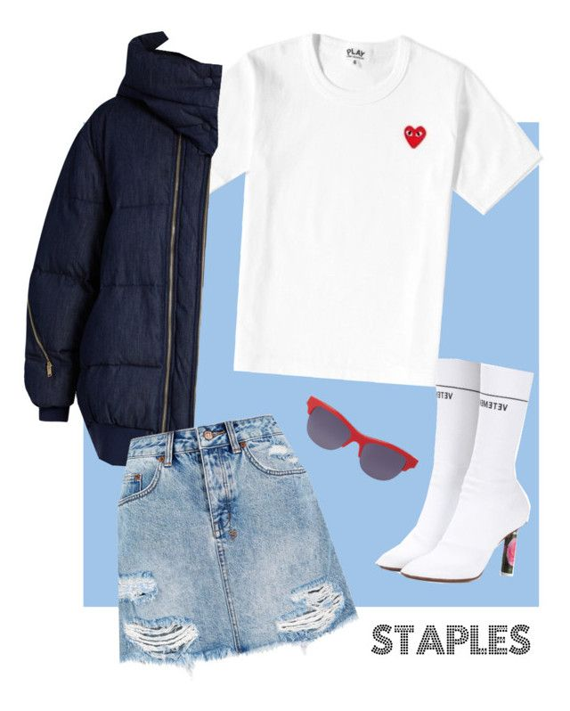 """""""autumn days"""" by holaallyy on Polyvore featuring Play Comme des Garçons, STELLA McCARTNEY, Ksubi, Vetements and Kenzo"""