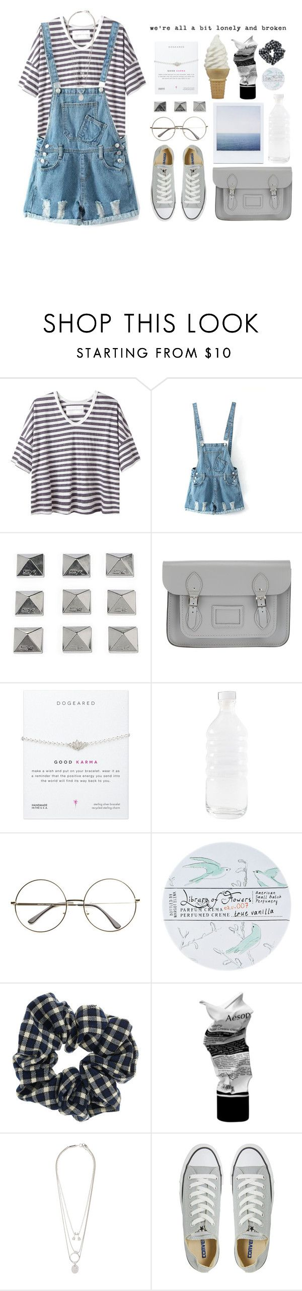 """""""#47 """"Sometimes Important Things Are Just Invisible, They can't be seen."""""""" by judy-tran2201 ❤ liked on Polyvore featuring Alexander Yamaguchi, Chicnova Fashion, Dakine, The Cambridge Satchel Company, canvas, Library of Flowers, Topshop, Aesop, Maison Margiela and Converse"""