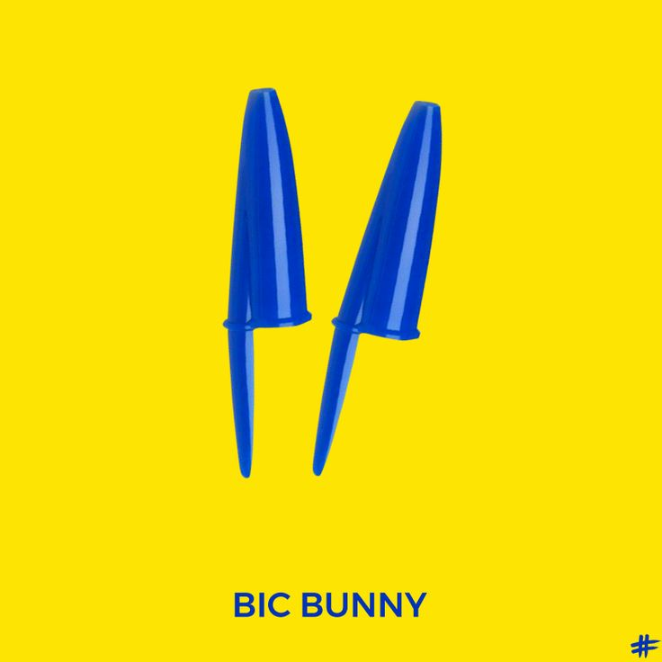Happy Easter! [The Bic Project] #bic #easter #bunny #ads #ådvertising