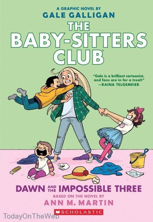 Dawn and the Impossible Three (The Baby-sitters Club Graphic Novel #5) Paperback