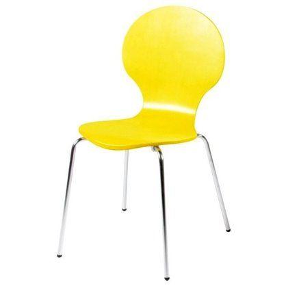 Krzesło Form żółte