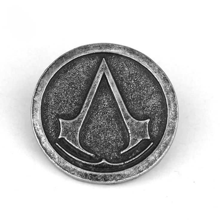 Brosa emblema Asasin Assasin's Creed men pin