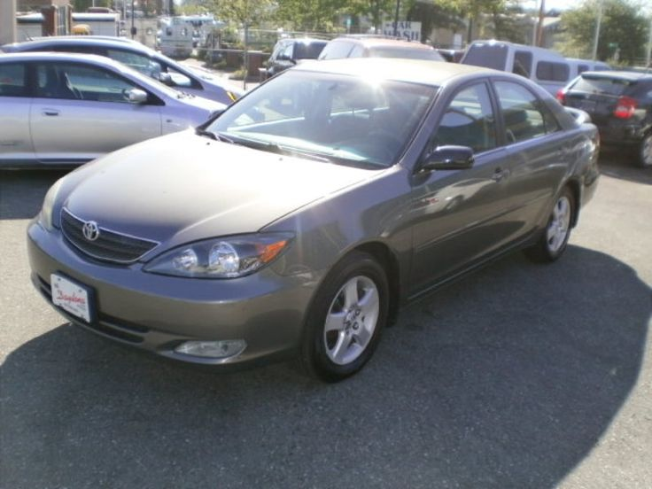 2004 Toyota Camry SE, 4 cylinder, automatic, power windows, locks, tilt, cc, cd, key less, alloys, rear spoiler, fully equipped, 224000 km,  Quality, Value, Sale, Finance, Lease, Warranty, Parts, Tires, since 1990,  financing: Available, good or bad credit, new to a job, International student financing, in-house financing, subject to credit approval, conditions and limits apply, see dealer for details,   Price: $ 5980.00 plus $499.00 doc fee and taxes apply,   for more info please call…