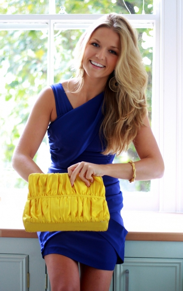 gorgeous blonde color