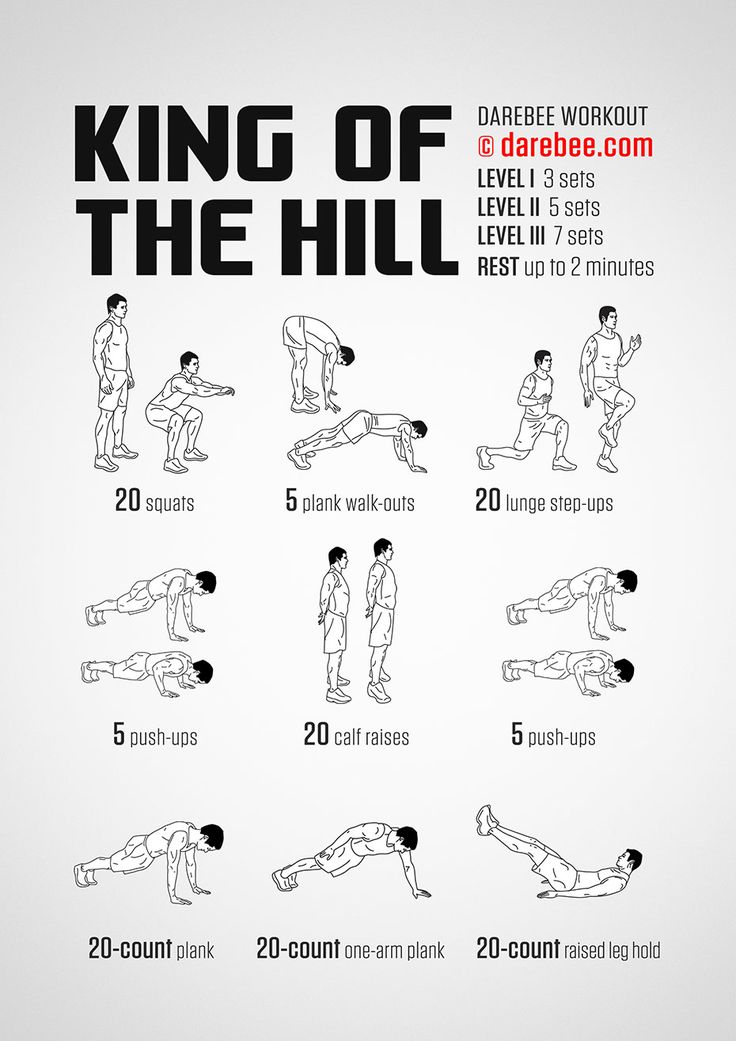 King of the Hill Workout 03.02