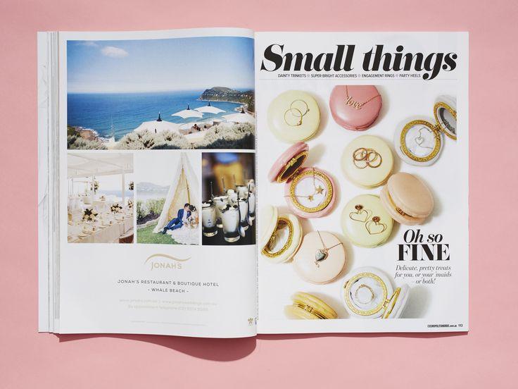 Cosmopolitan Bride, issue 39 www.cosmopolitanbride.com.au  #jewels #wedding #cosmobride #love