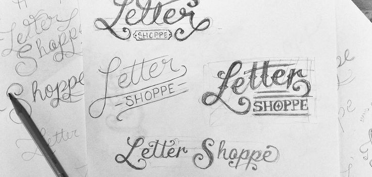 My step by step process for creating a hand-lettered logo design that tells a vivid brand story.