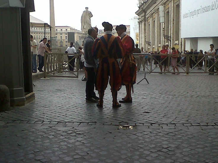 There's nothing like getting kicked out of the Vatican even before we've stepped foot in.