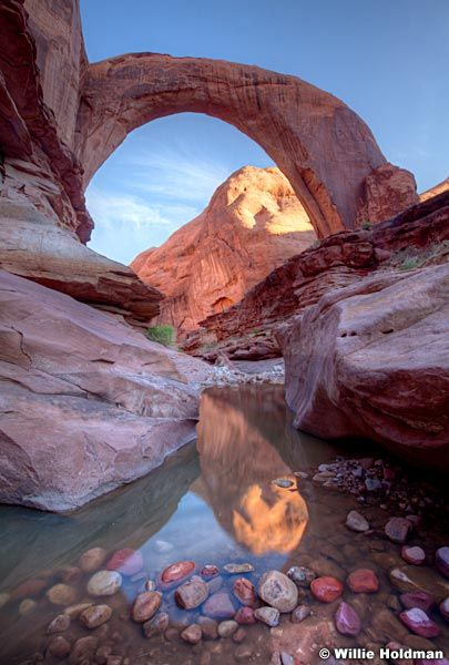 Rainbow bridge, Lake Powell, Arizona