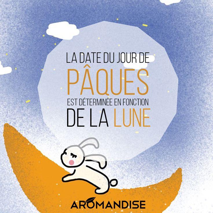 Saurez-vous déterminer la date de Pâques ? #Pâques #lune #Aromandise
