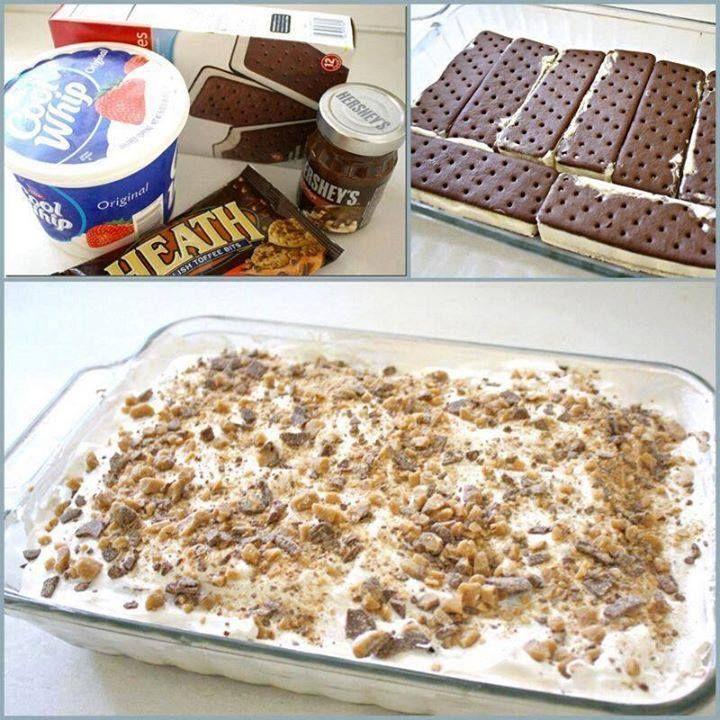 Ice Cream Sandwich Cake - All food Recipes