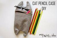 How-To: Adorable Cat Pencil Case