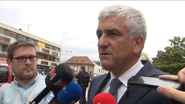 Réaction d'Hervé Morin suite à l'attentat de St Etienne du Rouvray
