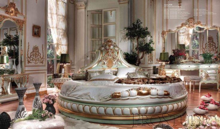 Skandal - королевская круглая кровать