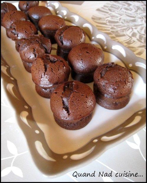 """Voilà une petite recette préparée pour le goûter de ma princesse. J'avais dans l'idée de préparer des mini-muffins pour participer au concours de Sorcilili. J'ai pris comme base la recette de fondants au chocolat du livre Tupperware sur """"les Minis"""" en..."""