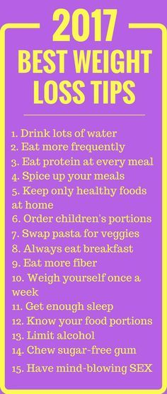 2017 Best Weight Loss Tips.