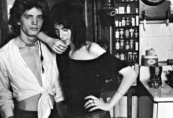 Patti Smith + Robert Mapplethorpe