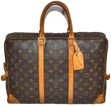 Louis Vuitton Porte Documents Briefcase Laptop Bag. Carry your laptop in style! The Louis Vuitton Porte Documents Briefcase Laptop Bag is a top 10 member favorite on Tradesy. Save on yours before they're sold out!