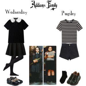Addams Family - Wednesday & Pugsley