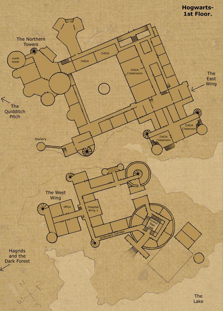 Hogwarts castle floor plan saw it s certain that it for Pics of plans