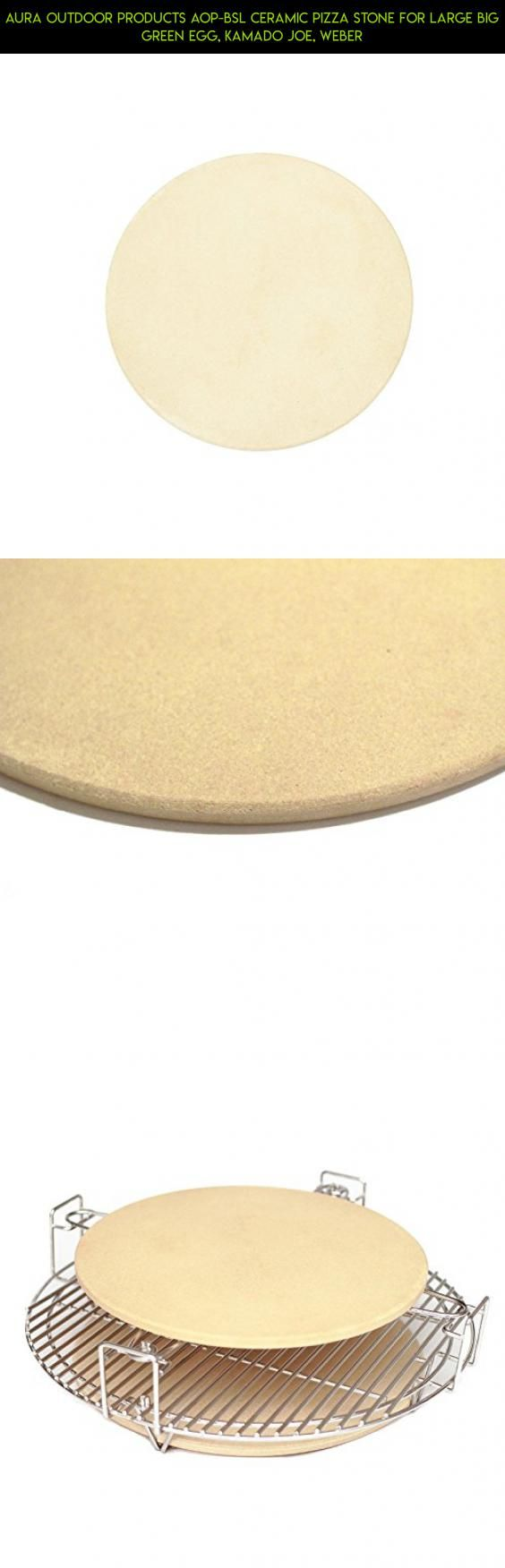 Aura Outdoor Products AOP-BSL Ceramic Pizza Stone for Large Big Green Egg, Kamado Joe, Weber #kit #racing #camera #drone #grills #plans #parts #tech #products #fpv #technology #gadgets #shopping #egg