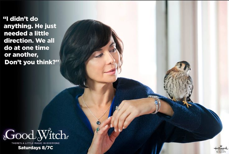 Our #GoodWitch Cassie has words of wisdom to help see the light in a lot of situations. :)