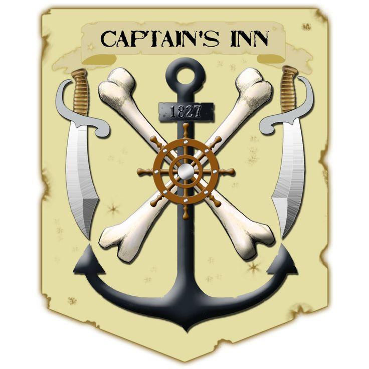 Emblem designed for the Captain's Inn