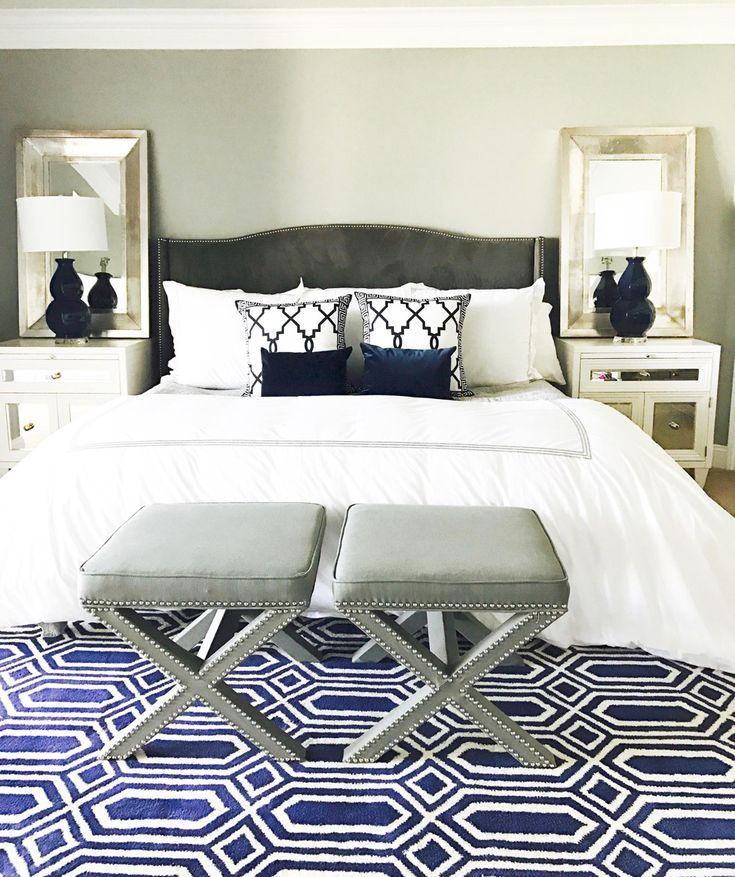 interesting bedroom mirrors | The Outrageous Cool Mirror Behind Nightstand Lamp Ideas ...