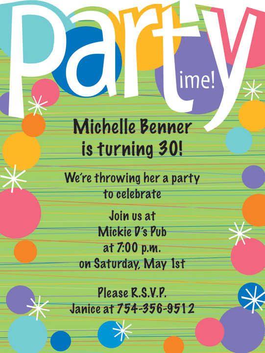 8th Birthday Party Invitation Wording My Birthday Birthday Party