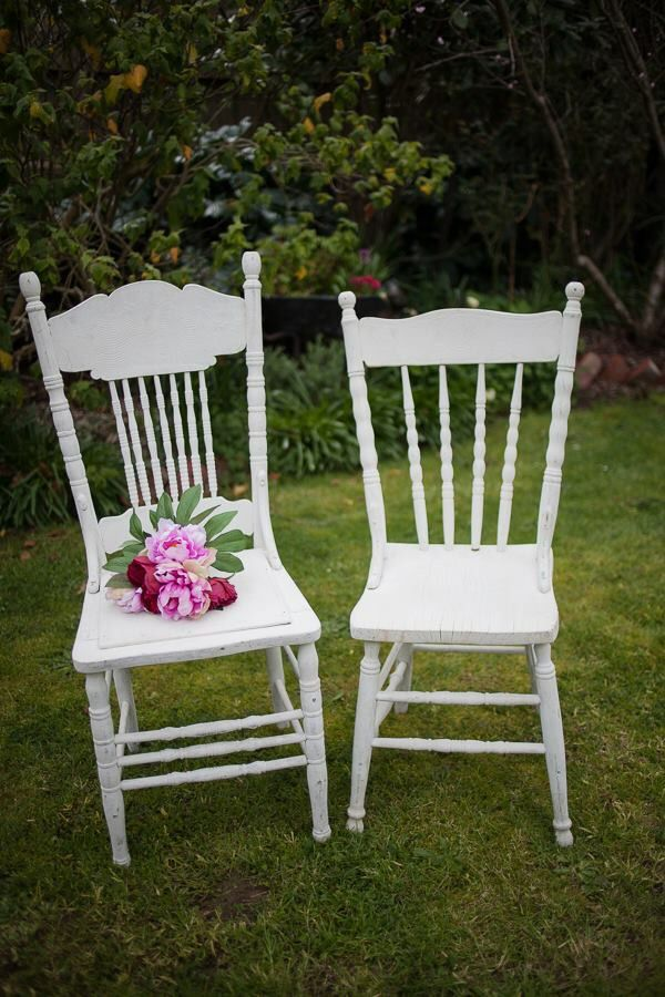 Beautiful His And Hers Shabby Chic Vintage Chairs Make A Grand Statement Pair It With Lovely White Table My Sweet Event Hire