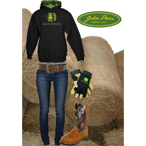 On the Farm by hotcowboyfan on Polyvore