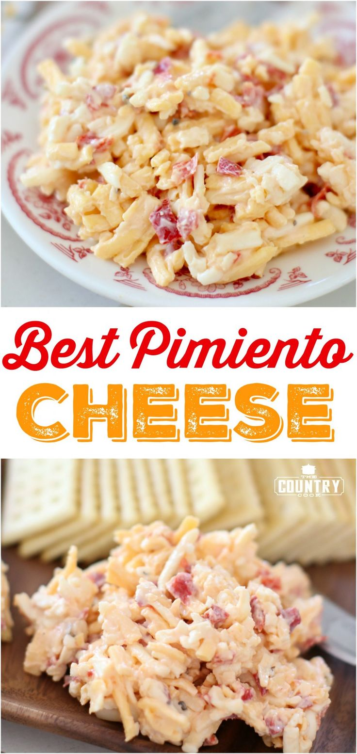Best Pimiento Cheese recipe from The Country Cook