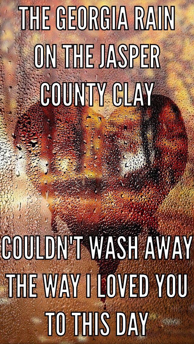 Georgia Rain-Trisha Yearwood  Loooove this song so bad!