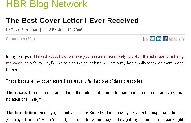 The best cover letter i ever received letters cover for The best cover letter i ve ever read