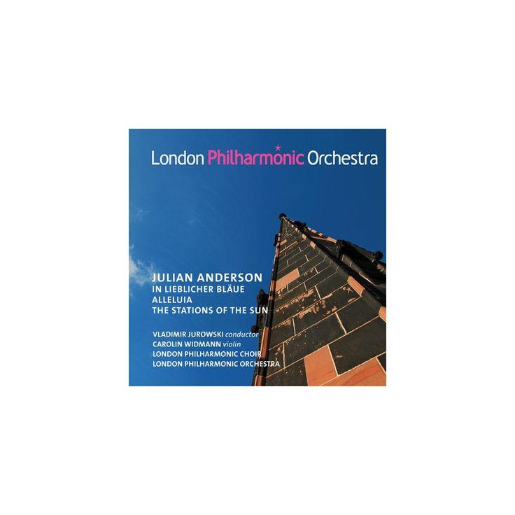 Anderson & London Philharmonic Choir & Jurowski - In Lieblicher Blaue (CD)